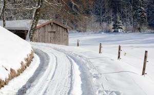m Winter können Balkenmäher mit einem Schneeschieber bestückt werden, und sind somit auch im verschneiten Winter ein großer Helfer.